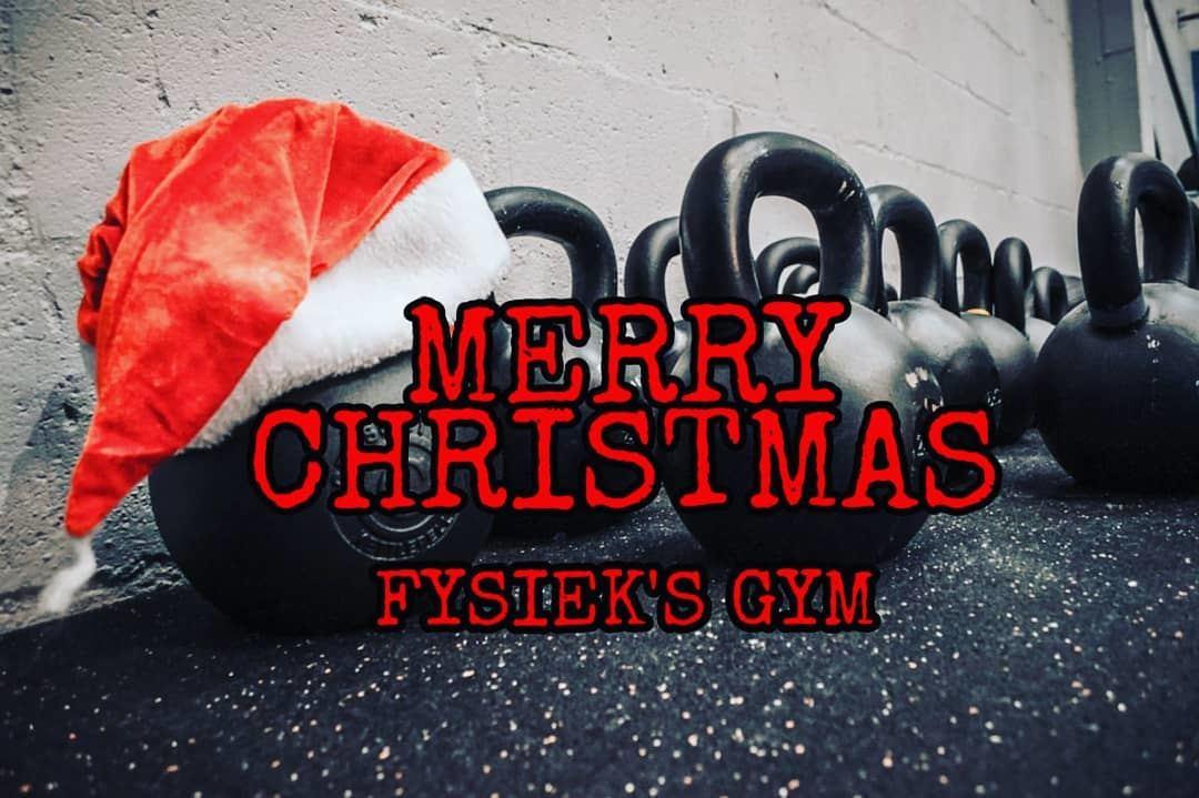 X-mas at Fysiek's Gym